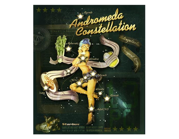 Poster Andromeda