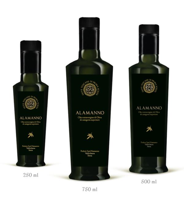 packaging ed etichette olio di oliva