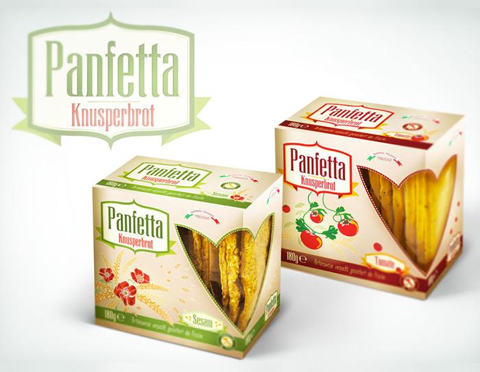 Panfetta crackers
