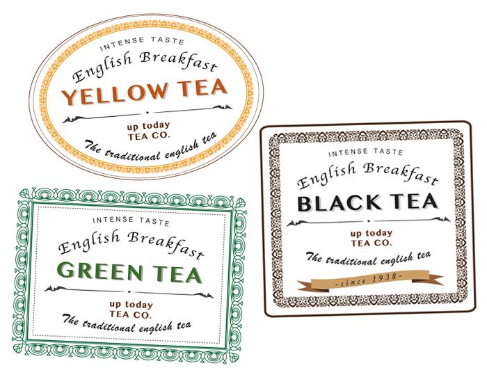 Etichette Tè