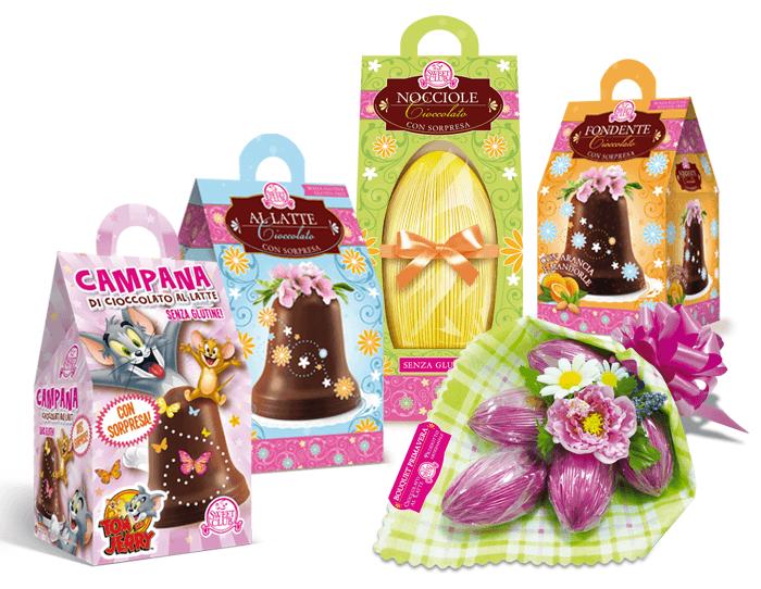 Packaging Pasqua Sweet Club