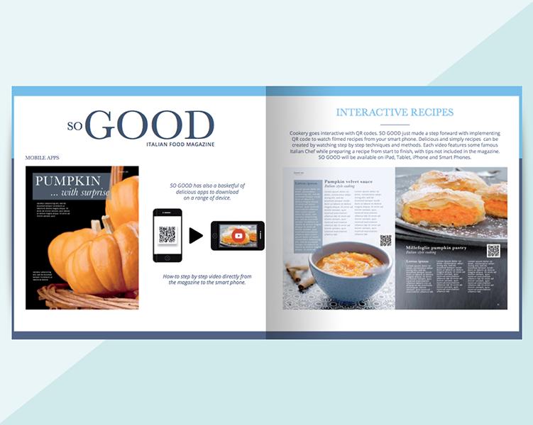 Rivista di cucina sogood progettazione grafica editoriale for Articoli di cucina