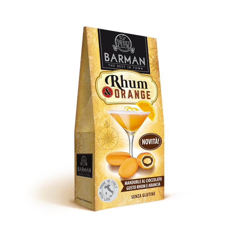 Packaging design Dragees Barman