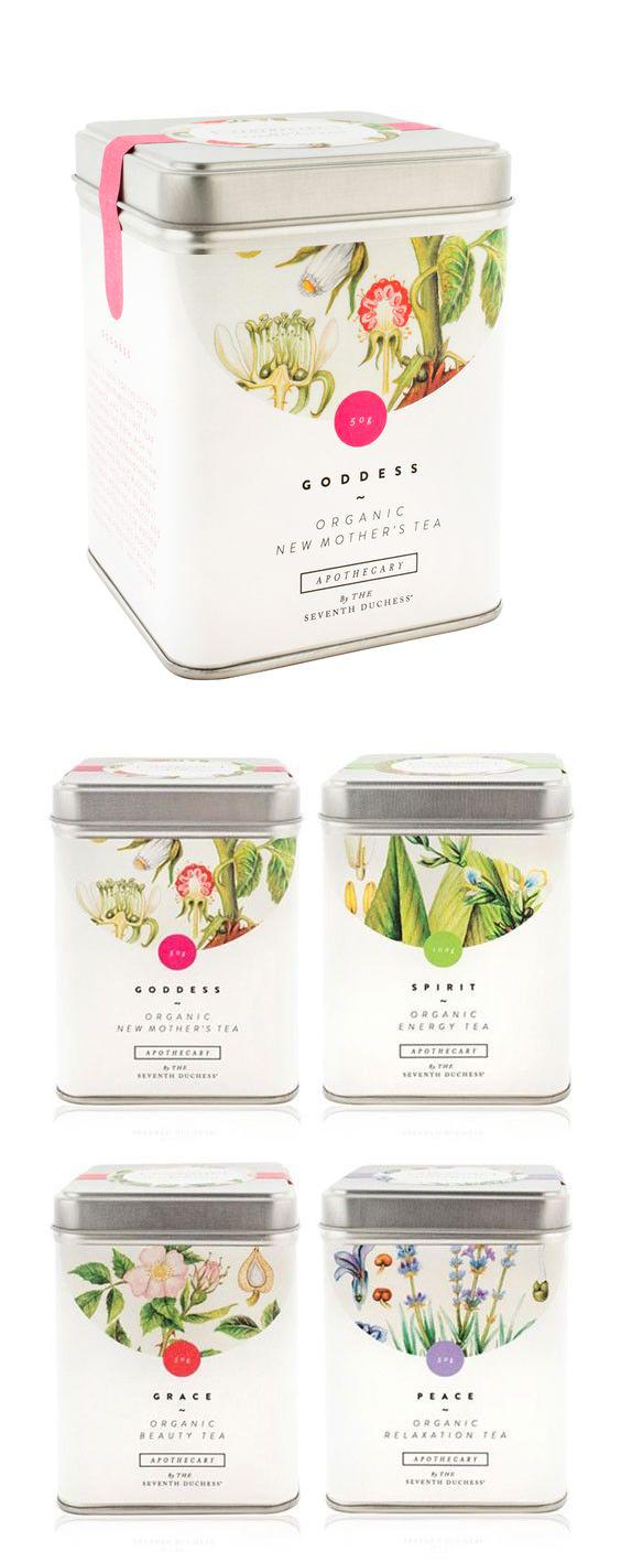 Esempi di packaging tè in barattolo