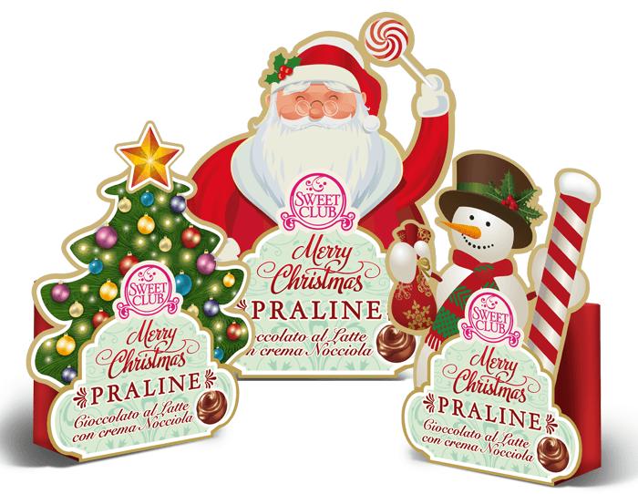 Packaging di Natale Sweet Club
