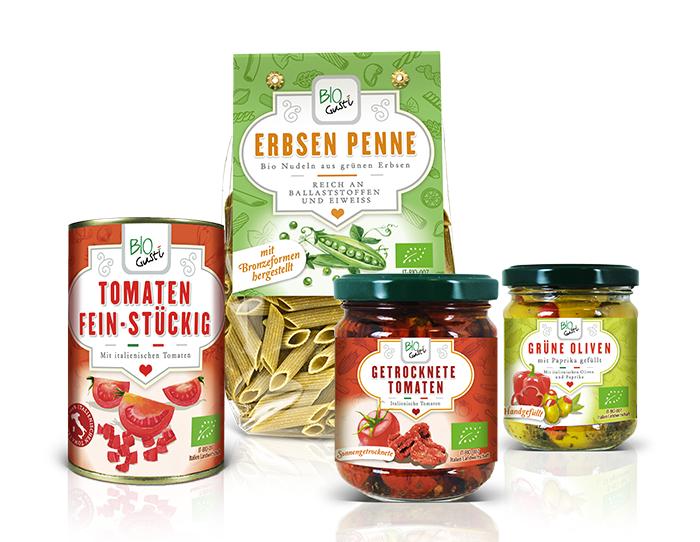 Packaging Bio Probios Deutschland