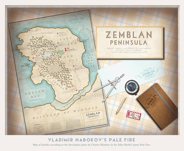 Fuoco Pallido Tour la mappa di Zembla