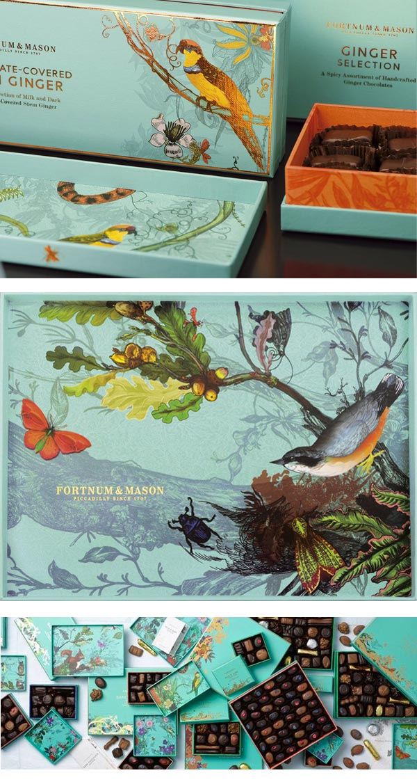Packaging Alimentari Illustrati